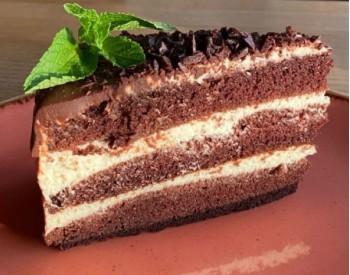 Шоколадный домашний торт