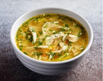 Суп-лапша с куриным филе